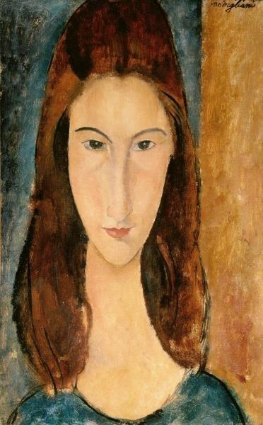 """11H: AMEDEO MODIGLIANI  """"JEANNE HEBUTERNE, 1919"""""""