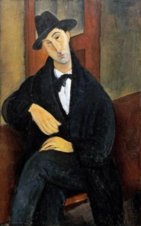 "AMEDEO MODIGLIANI  ""PORTRAIT OF MARIO.(MARIOS VARV"