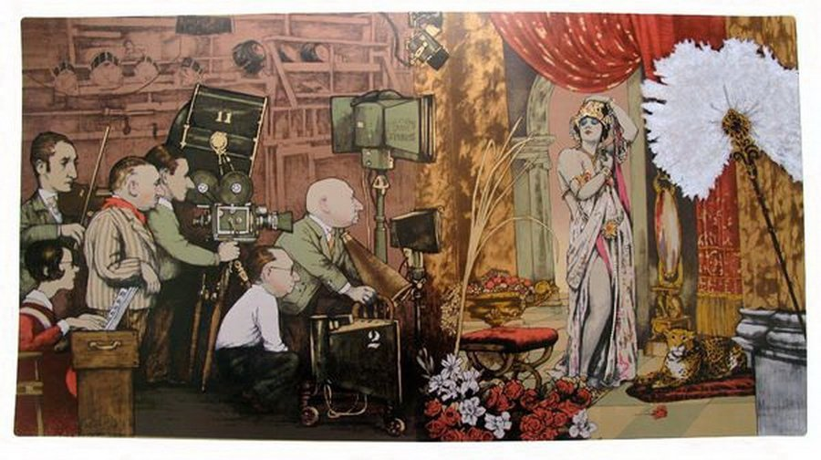 9T: CHARLES BRAGG SCREEN GODDESS HAND SIGNED LIMITED ED