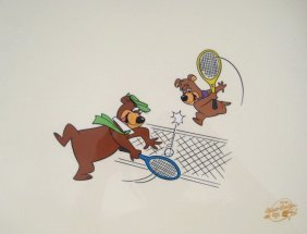 YOGI BEAR AND BOO BOO TENNIS ANYONE ANIMATION SER