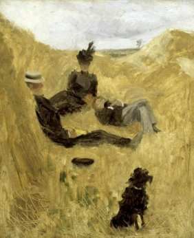 """16H: HENRI TOULOUSELAUTREC  """"PARTY IN THE COUNTRY"""""""