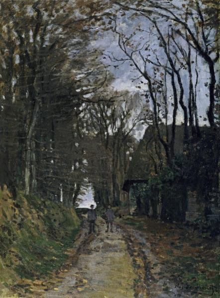 "31H: CLAUDE MONET  ""A NORMANDY PATH"""