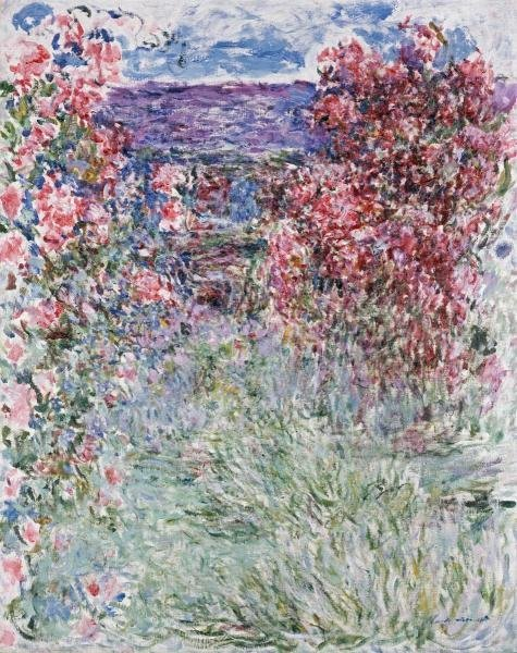 "36H: CLAUDE MONET  ""THE HOUSE IN THE ROSES"""