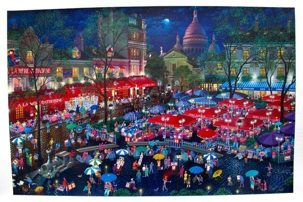 11T: Alexander Chen A NIGHT IN MONTMARTRE Limited Ed. H