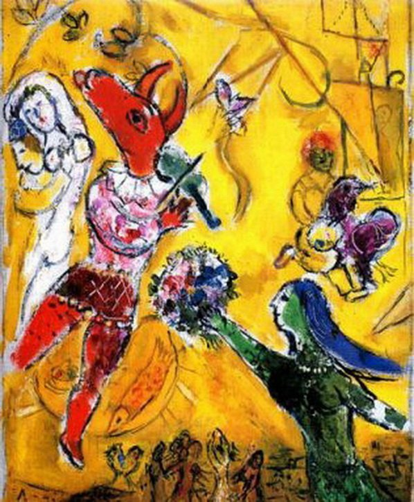 83T: MARC CHAGALL THE DANCE & THE CIRCUS LIMITED ED. GI