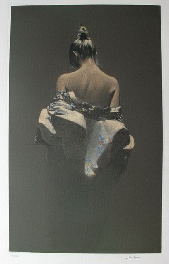 9T: JEFF CORNELL BARE SHOULDERS HAND SIGNED LIMITED ED.