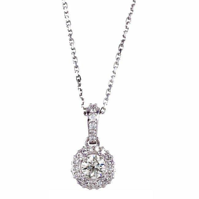 9F: THE CLASSIC DIAMOND PENDANT