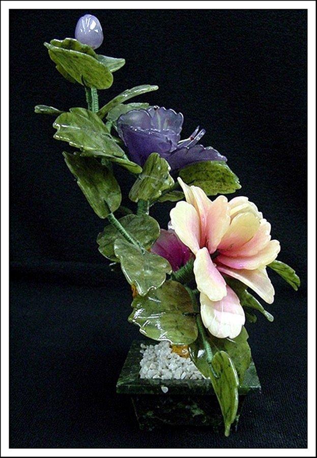 1J: MIXED JADE BONSAI FLOWERS - 2