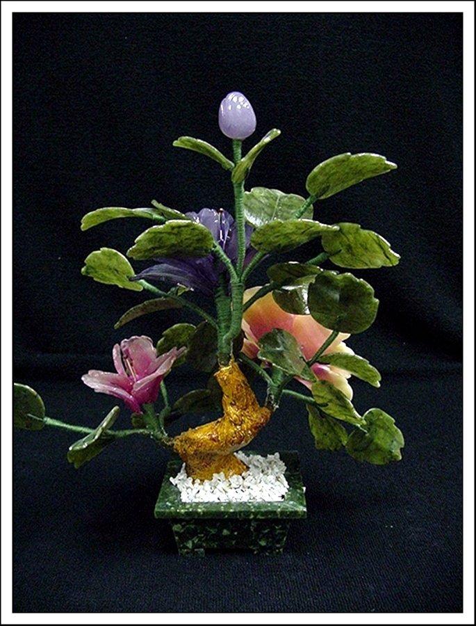 1J: MIXED JADE BONSAI FLOWERS - 3