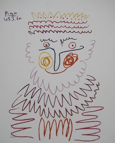 13T: PABLO PICASSO LE ROI LIMITED ED. GICLEE