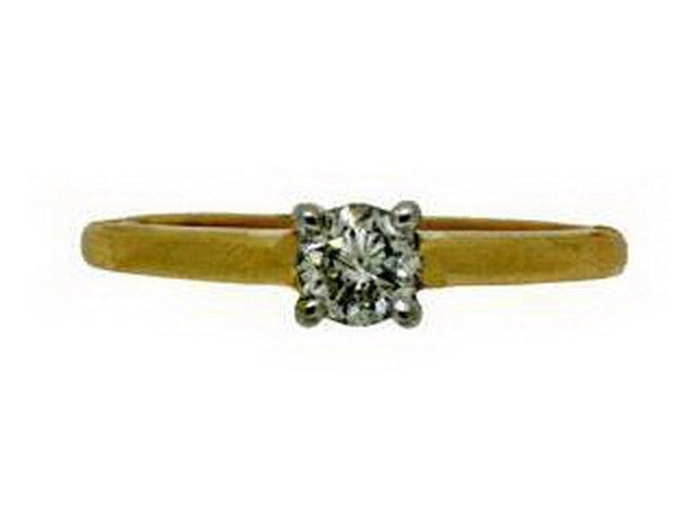 29Z: DIAMOND SOLITAIRE RING
