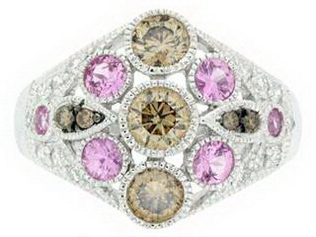 77Z: COLOR DIAMOND RING