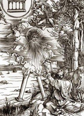 """ALBRECHT DURER  """"ST. JOHN DEVOURING THE BOOK"""""""