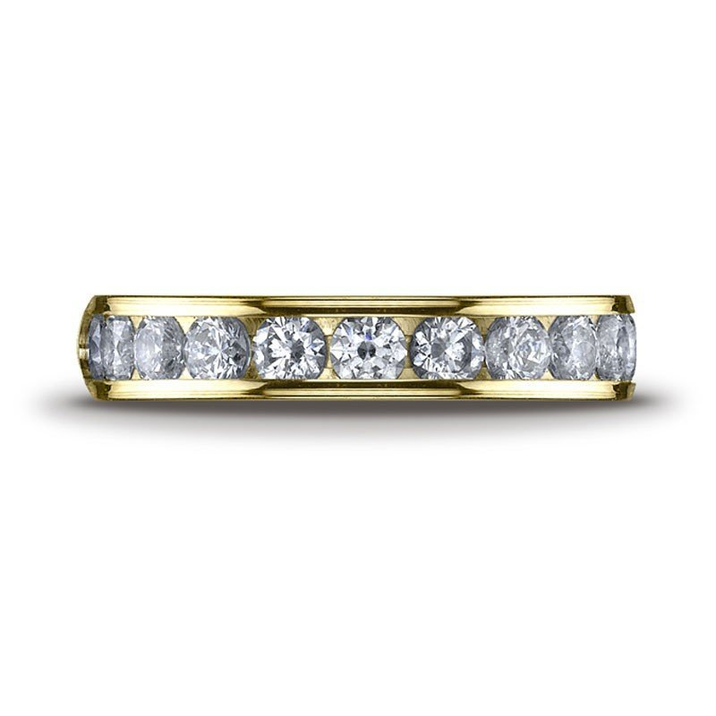 1F: 1CT  DIAMOND BAND IN 14KT YELLOW GOLD