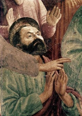"MASACCIO  ""ST. PETER RESURRECTS THE CHILD OF THEOP"