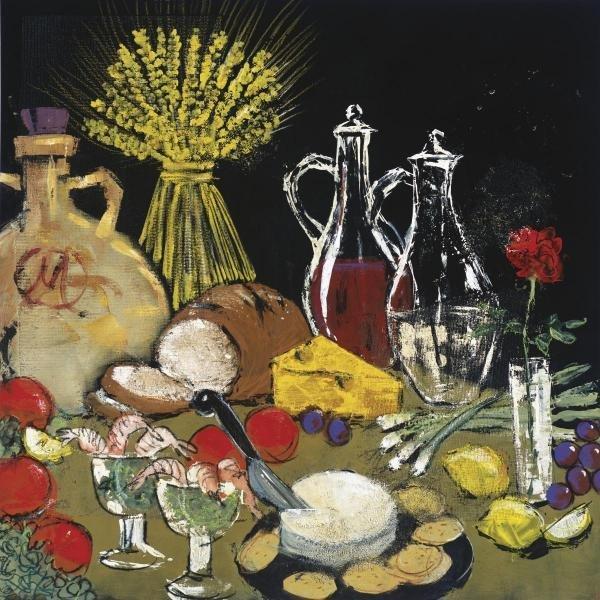"""473G: SUSAN GILLETTE  """"SUR LA TABLE"""""""