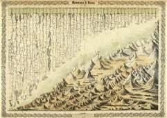 """853G: G.W. COLTON """"MOUNTAINS & RIVERS, 1856"""""""