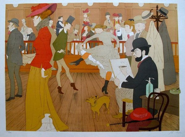 5T: PHILIPPE NOYER MOULIN ROUGE HAND SIGNED LIMITED ED.
