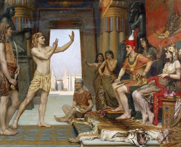 "5G: REGINALD ARTHUR  ""JOSEPH INTERPRETING PHARAOH'S DRE"
