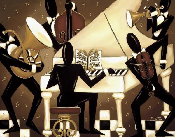 "9G: LORI MCPHEE  ""PIANO MAN I"""
