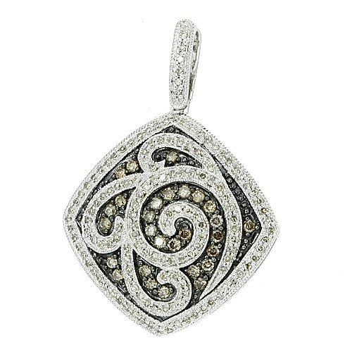 10C: CHAMPAGNE DIAMOND FANCY PENDANT
