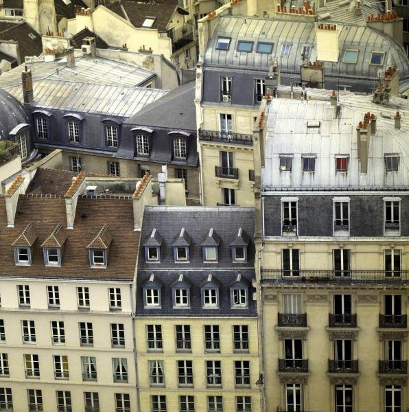 "13G: ALICIA BOCK  ""PARIS ROOFTOPS I"""