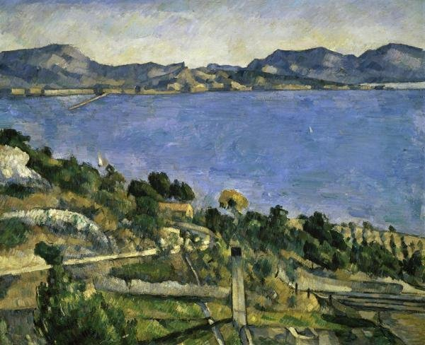 "17G: PAUL CEZANNE  ""L'ESTAQUE"""