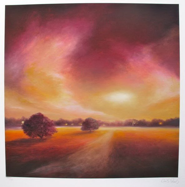 1309T: CHRIS PARSONS DUSK LIGHT LIMITED ED. HAND SIGNED