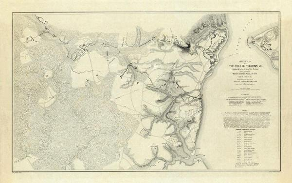 """13G: HENRY L. ABBOT  """"CIVIL WAR  OFFICIAL PLAN OF THE S"""