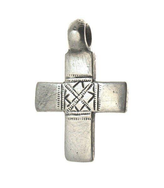 15F: SMALLER COPTIC CHRISTIAN ANTIQUE CROSS