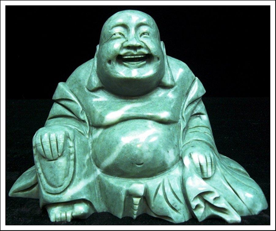 1J: JADE SITTING BUDDHA