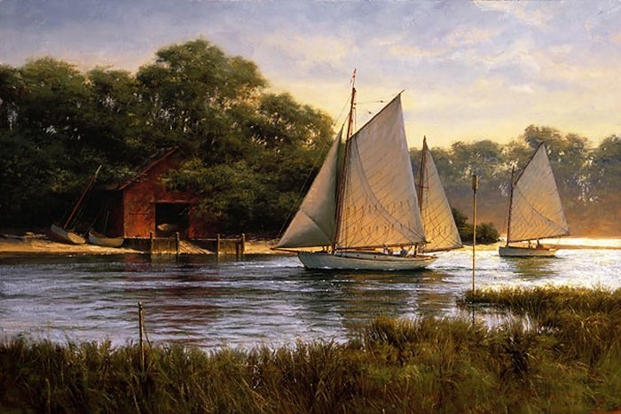 4W: DON DEMERS - BY THE OLD BOAT HOUSE