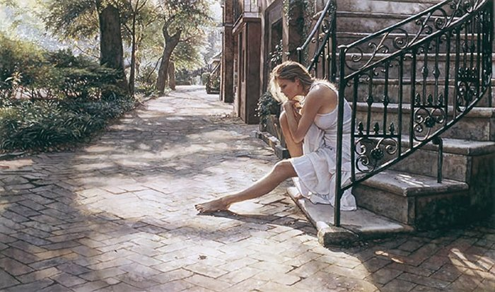 13W: STEVE HANKS - ONE STEP AT A TIME