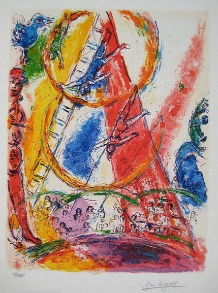 5T: MARC CHAGALL CIRCUS III LIMITED ED.