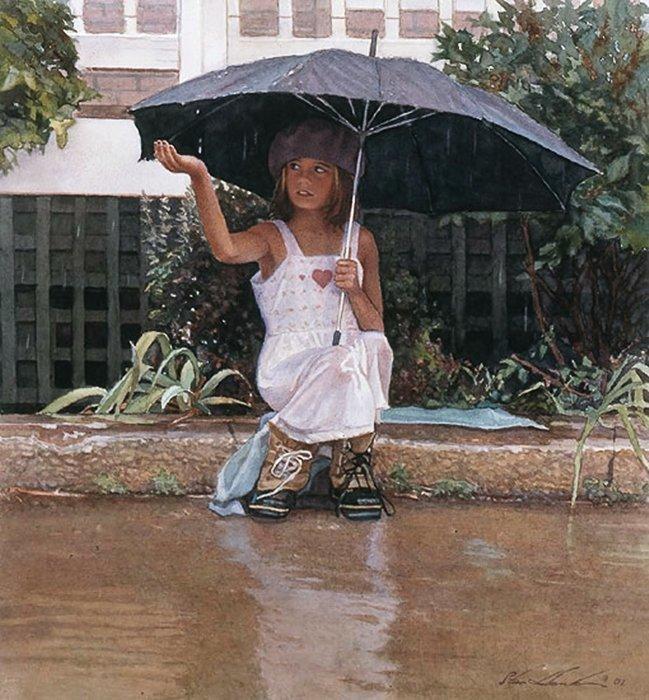 13W: STEVE HANKS - CATCHING THE RAIN