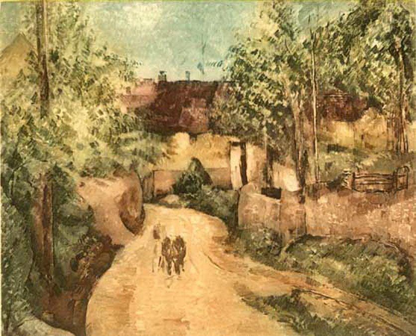 15T: PAUL CEZANNE A AUVERS AMBROISE VOLLARD ESTATE