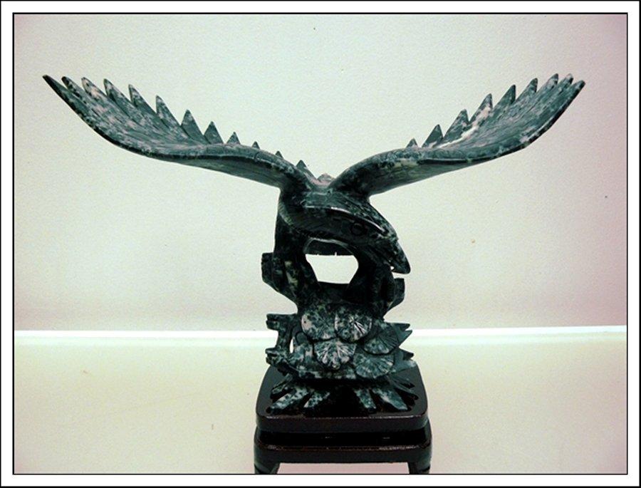 8J: BLACK JADE EAGLE