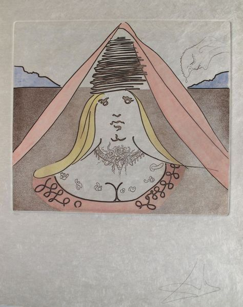 149T: SALVADOR DALI MAN OF LA MANCHA SUITE LADY DULCINE