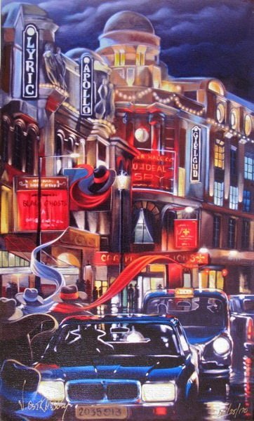 5T: VICTOR OSTROVSKY LONDON CONTACT HAND SIGNED LIMITED