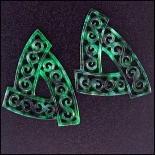 937K: NATURAL GREEN JADE LOOSE