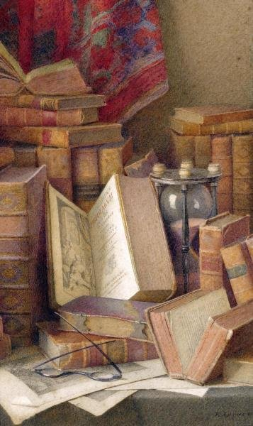 6B: FREDERICK SPENCER - OLD BOOKS TO READ