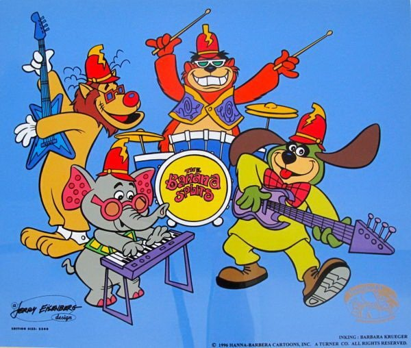 "7T: HANNA-BARBERA THE BANANA SPLITS ""TRA LA LA"" ANIMATI"