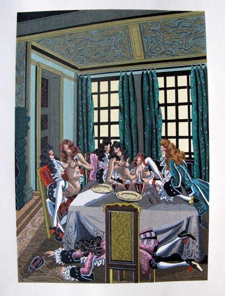 7T: JEAN GRADASSI MEMOIRS OF CARDINAL DUBOIS 1950 COLOR