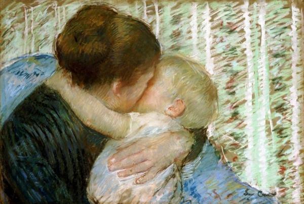 5B: MARY CASSATT - A GOODNIGHT HUG
