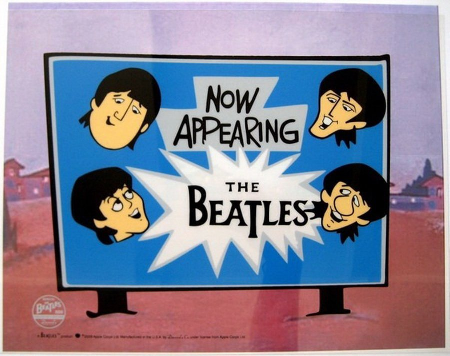 9T: THE BEATLES NOW APPEARING ANIMATION CARTOON SERIC