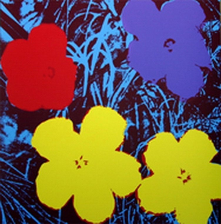 ANDY WARHOL FLOWERS SUNDAY B. MORNING ANDY WARHOL WWWWW