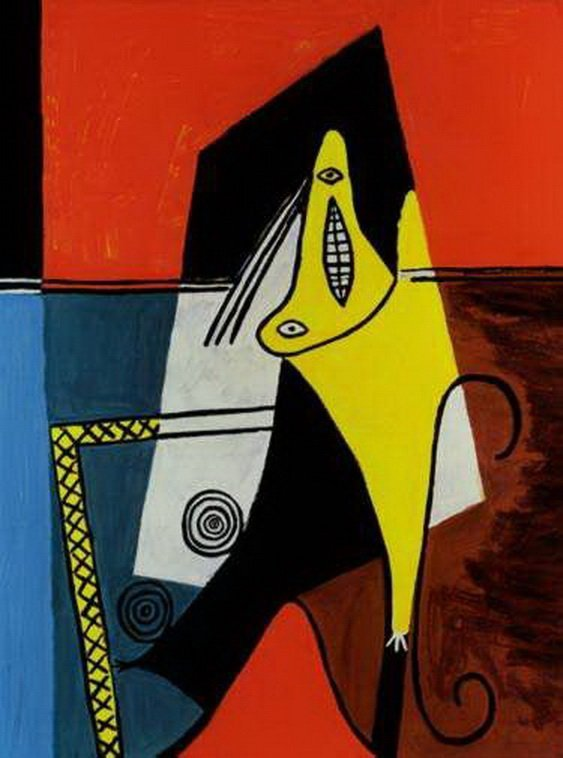 5T: #69 FIGURE PICASSO ESTATE SIGNED GICLÉE