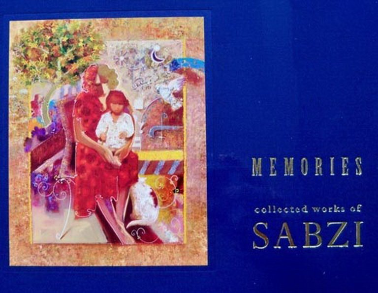 17T: SABZI MEMORIES COFFEE TABLE COLOR ART BOOK