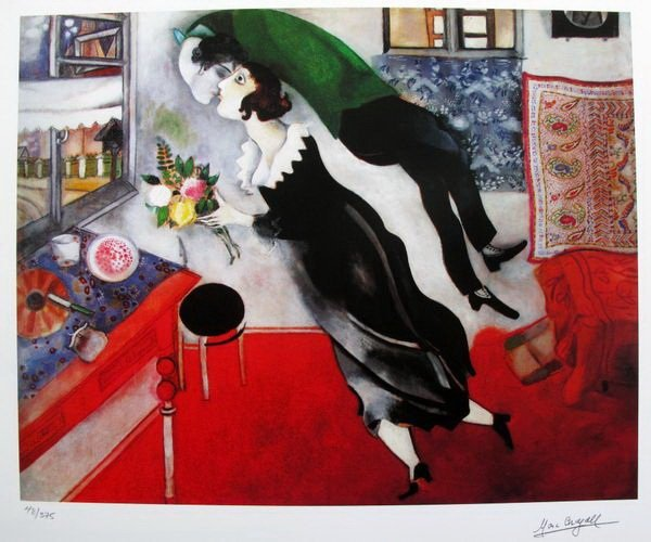 7T: MARC CHAGALL BIRTHDAY LIMITED ED. GICLÉE