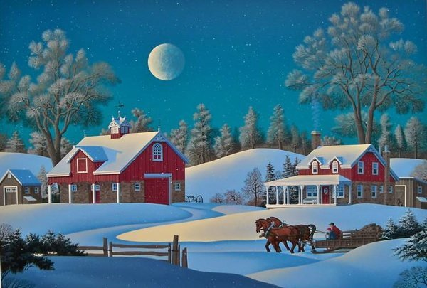 11T: JIM BUCKELS WINTERSET FARM HAND SIGNED LIMITED ED.
